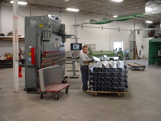 sheet metal fabrication brake bending denver