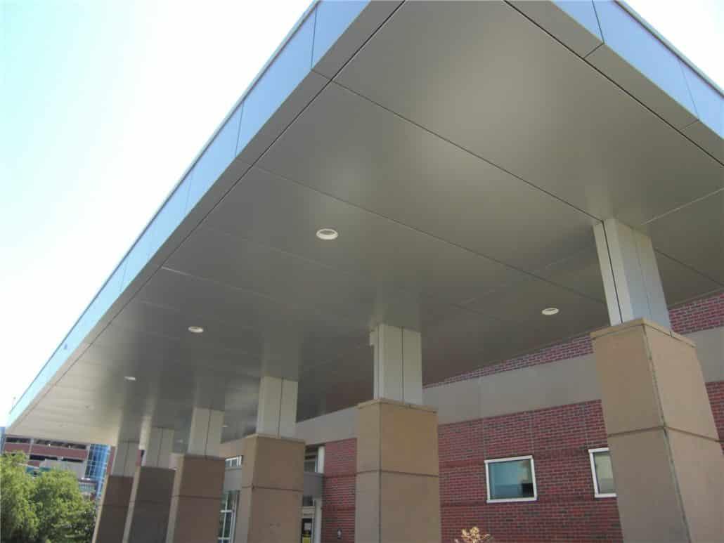 Aluminum Composite Panel H Amp H Metals Fabrication