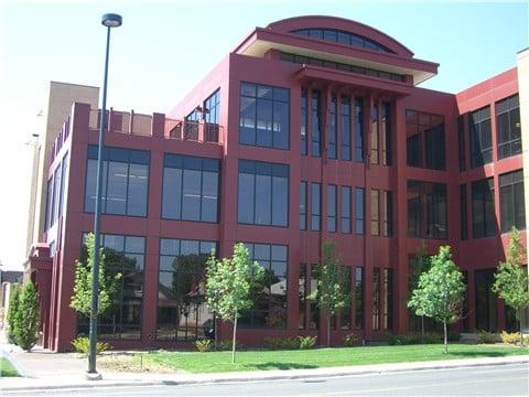 aluminum composite panel building