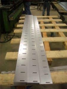 punching sheet metal strips