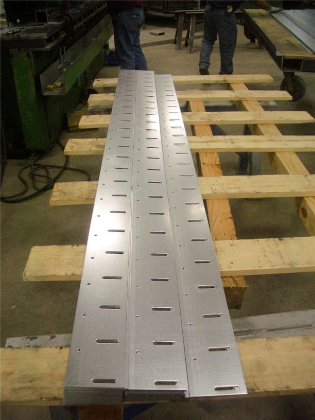 punching sheet metal strips