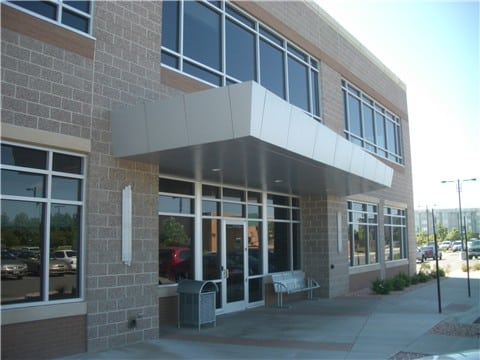 aluminum composite panel canopy office
