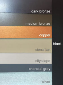 Color Choices Painted Steel Kynar