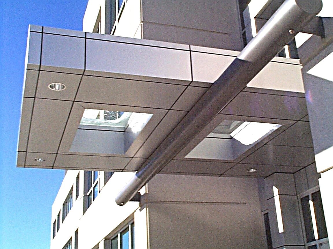 Aluminum Composite Panel Systems : Aluminum composite panel h metals fabrication