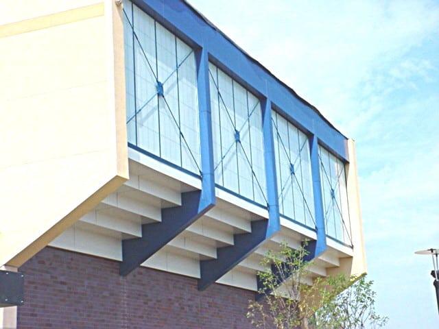 aluminum composite panel school