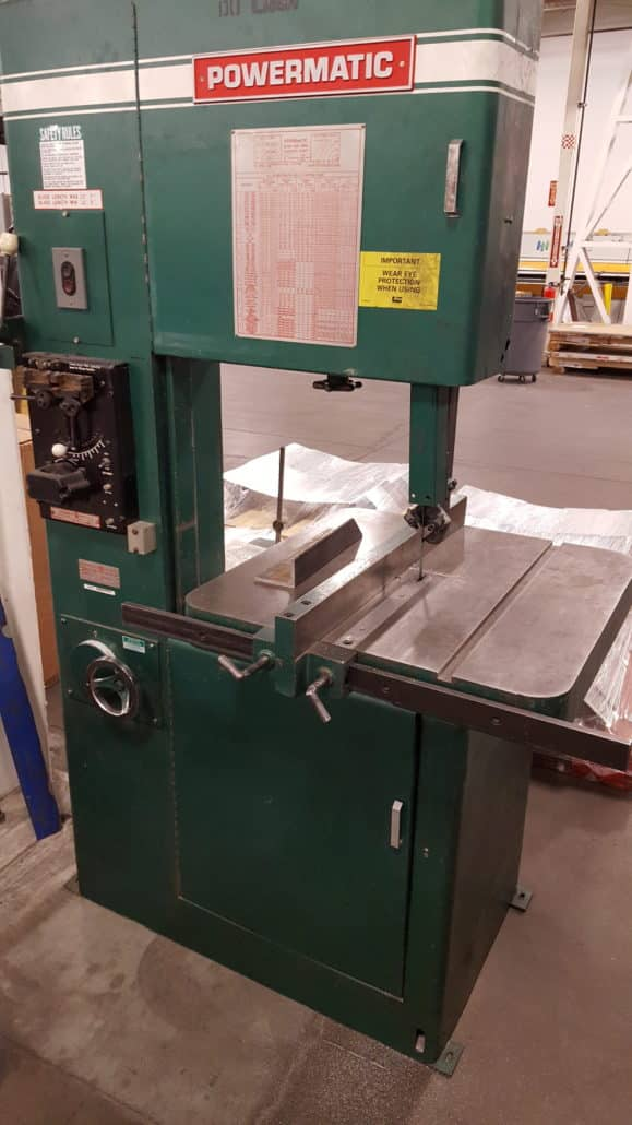 Metal Band Saw Vertical