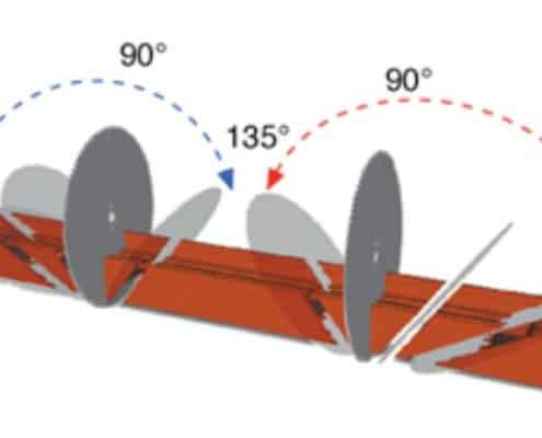 Double Miter Saw Head Angles