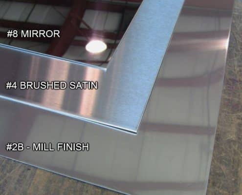 Stainless Steel Sheet Metal Types