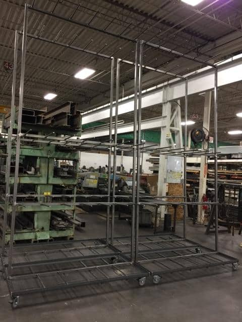 Welded Extrusion Carts