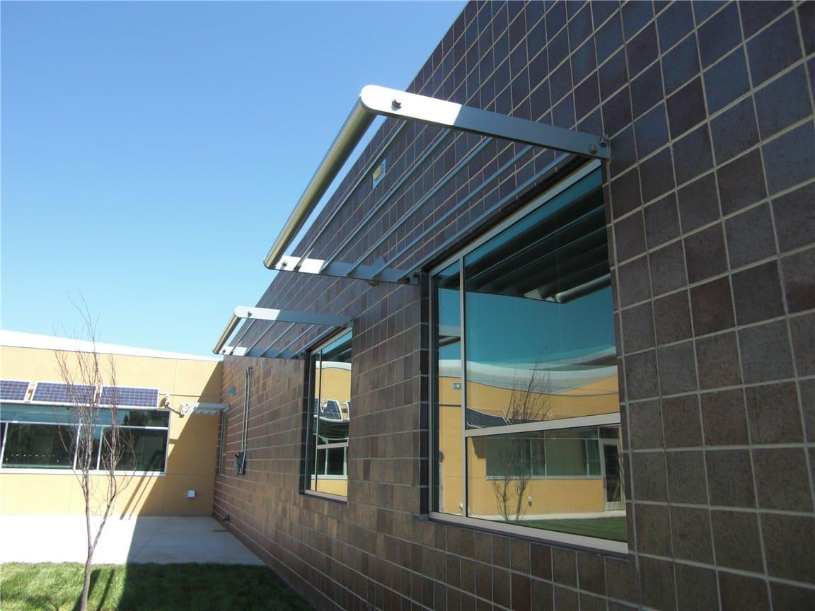 Aluminum Sunshades Sunscreens Sun Control Devices
